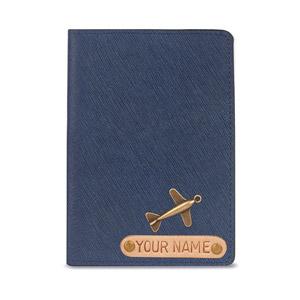 PASSPORT COVER BASIC MÀU XANH ĐEN