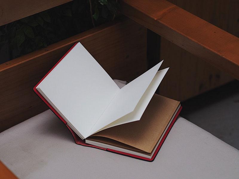 Sổ tay vintage giấy kraft độc đáo