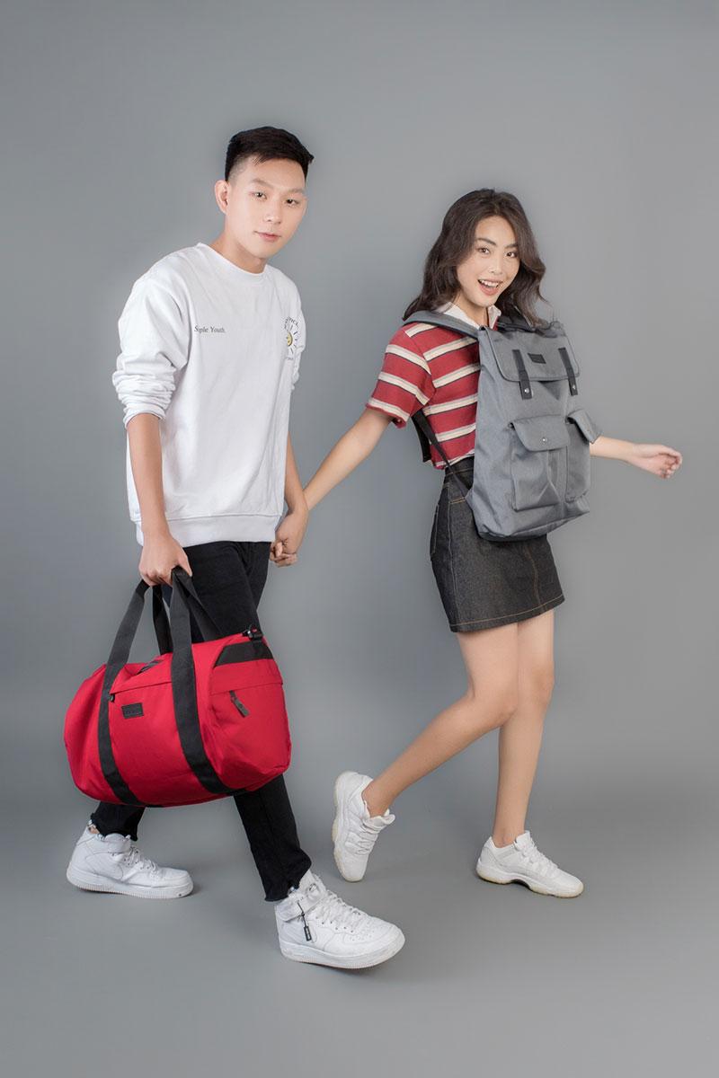 Túi trống vải bố thời trang cho cả nam và nữ