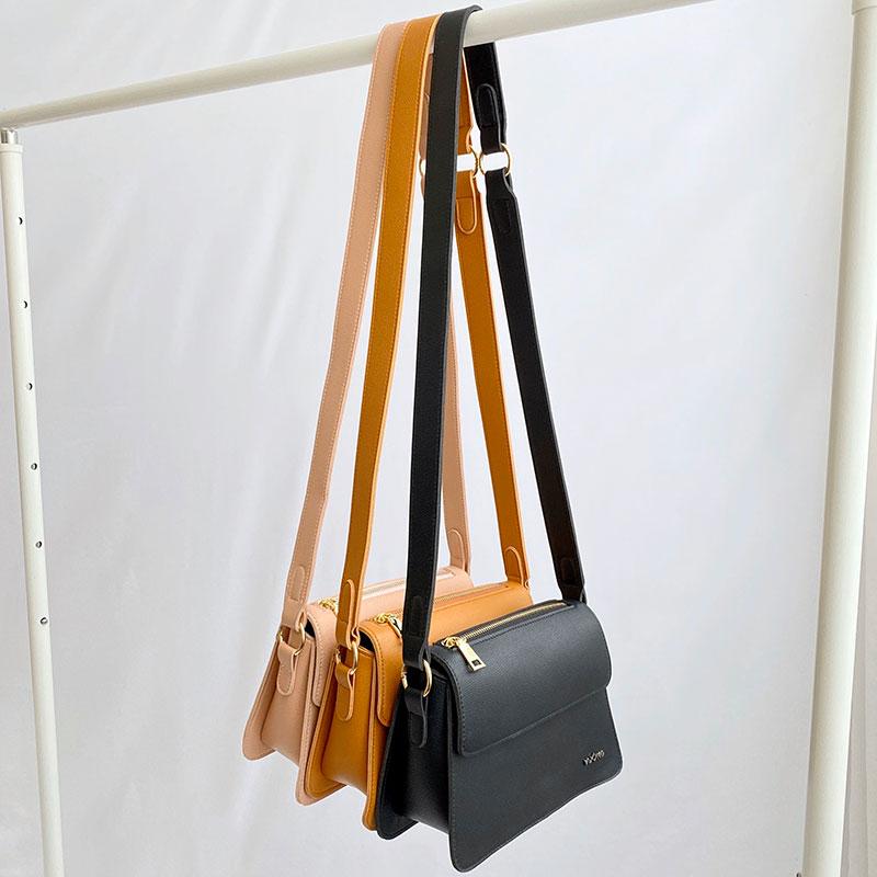 Túi Crayon đeo chéo với 3 tông màu cho nữ