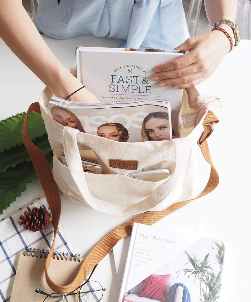 Túi tote vải bố cotton giá rẻ