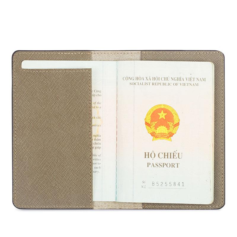 vỏ bọc hộ chiếu khắc tên