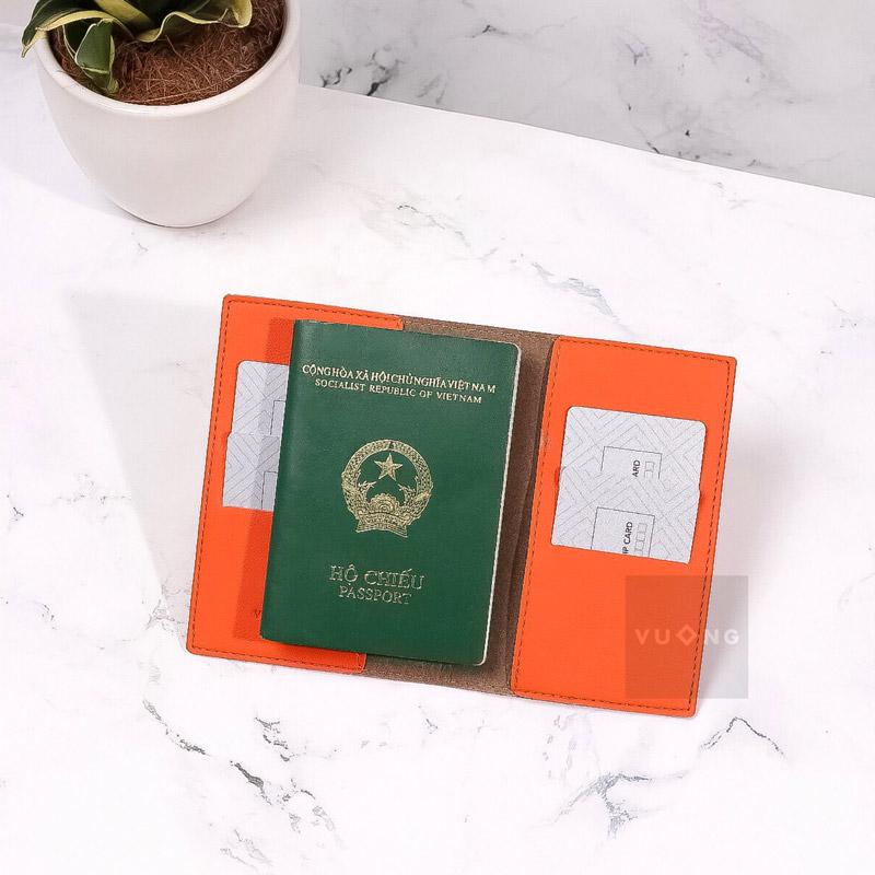 vỏ bọc hộ chiếu đựng thẻ