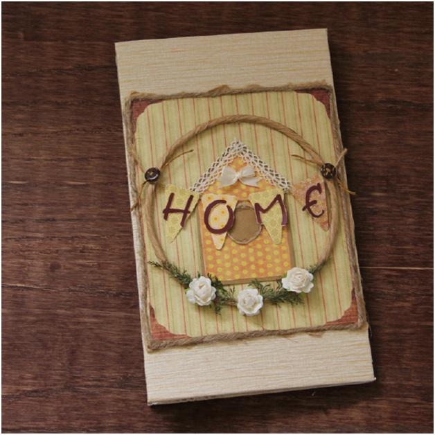 Album ảnh handmade chủ đề HOME