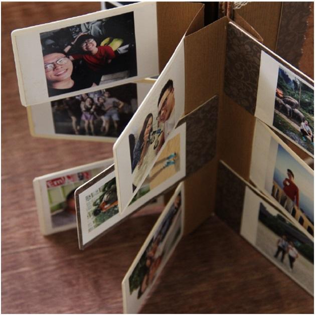 Scrapbook - Album ảnh handmade cổ điển
